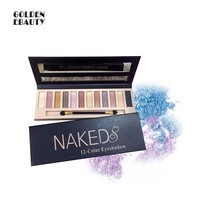 Fashion Naked 8 12 Colors Eye Shadow [11043711884]