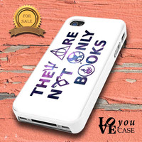 Divergent hunger game harry potter book quotes inspired for iphone, ipod, samsung galaxy, HTC and Nexus PHONE CASE