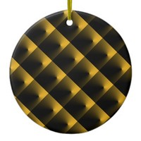Black and Gold Ornament