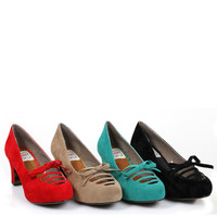 Bettie Page Letty Pumps