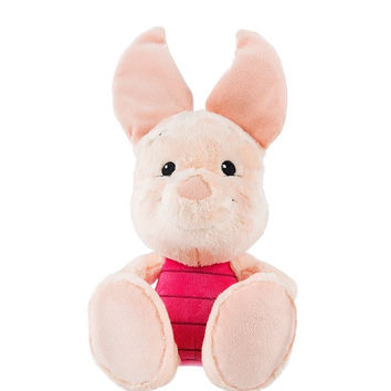 "Disney Parks Piglet Big Feet 10"" Plush New with Tag"