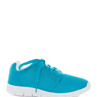 Delon Athletic Shoes - Turquoise