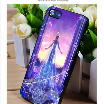 Elsa frozen iPhone for 4 5 5c 6 Plus Case, Samsung Galaxy for S3 S4 S5 Note 3 4 Case, iPod for 4 5 Case, HtC One for M7 M8 and Nexus Case