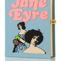 Olympia Le-Tan Jane Eyre embroidered clutch NET-A-PORTER.COM