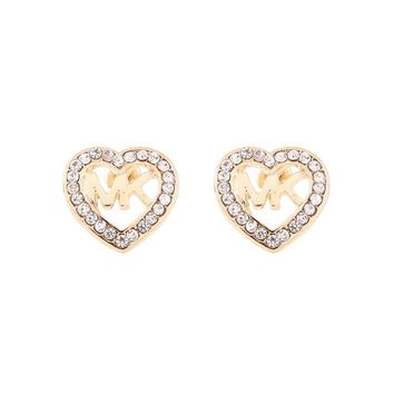 Hot Sale Accessory Heart Hollow Out Alloy Earrings [8573752077]