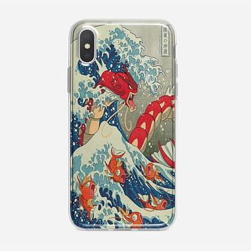 The Great Wave Of Kanto Pokemon iPhone XS Max Case