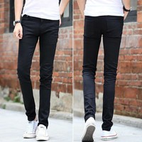 Mens Skinny Black Jeans