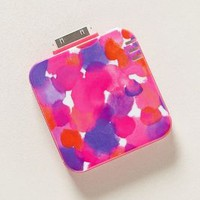 Watercolorist's iPhone 4 Backup Battery by Anthropologie Purple One Size Jewelry