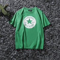 Hot Tunic Converse Women Man Fashion Print Sport Shirt Top Tee