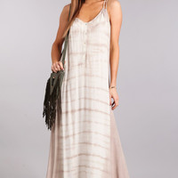 Becca Tie Dye Boho Resort Maxi Dress