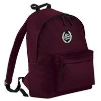 WTF is Blue Corner Store? Honest indie apparel. 100% ethically produced and sweat-shop free. — BLUE CORNER STORE MAROON BACKPACK