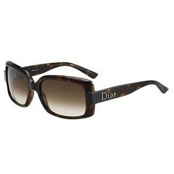Christian Dior 60s 2 Havana Brown Gradient Sunglasses