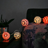Candy Stripe String Lights UK Plug - Urban Outfitters