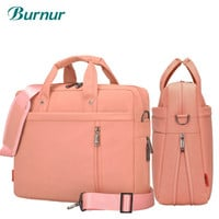 Laptop bag  17.3 17 15 14 13 inch Shockproof airbag waterproof computer bag men and women luxury thick Notebook bag 2017 new