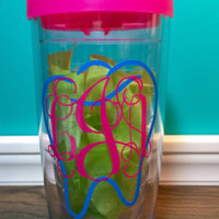 SALE!! Dental hygienist, dentist, dental assistant , monogrammed tumbler, two colors FOUR sizes and styles to choose from or two color mono