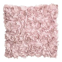 Cushion cover with flowers - Light pink - Home All | H&M GB