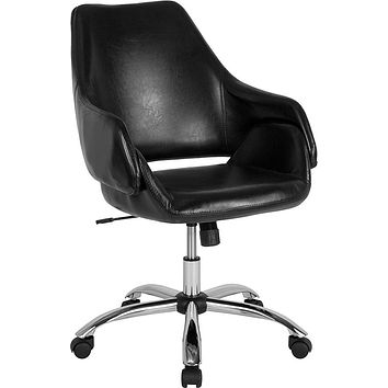 Madrid Home and Office Upholstered Mid-Back Chair