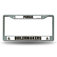 Purdue Boilermakers NCAA Chrome License Plate Frame