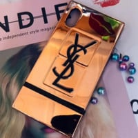 YSL Yves Saint Laurent iphone7 Mobile Shell iphoneX8plus Cover