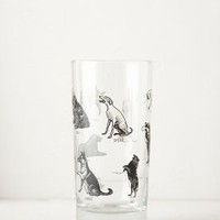 Paw Prints Juice Glass by Anthropologie Dogs Juice Wall Decor