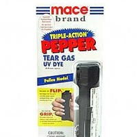 Mace Brand Pepper Spray Police Model with Key Chain