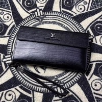 LV Louis Vuitton MEN'S NEW STYLE LEATHER WALLET HAND BAG