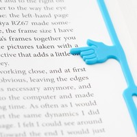 Fred & Friends FINGER PRINT a handy bookmark, Random Color