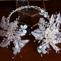 Elegant Handmade European Wedding Tiara
