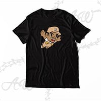 Chance The Rapper Mario Cartoon Chicago Rap Adult T Shirt