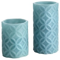 Carved LED Candles with Timer - Sea Air$12.95 - $14.95