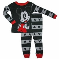 Mickey Mouse Toddler Boys 12M-5T Cotton Sleepwear Set (5T)