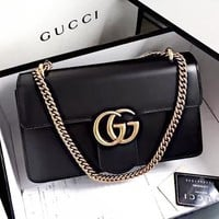 GUCCI New fashion leather shoulder bag crossbody bag women
