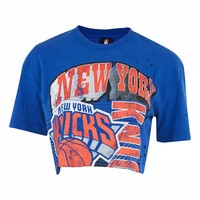 New York Knicks Crop Top by UNK X Topshop - New In