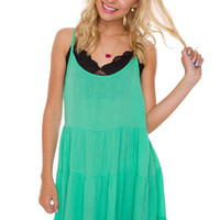 Beatriz Dress - Mint