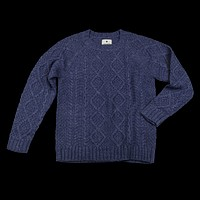 Cable Knit Pullover, Navy