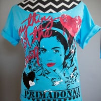 Marina and the Diamonds - Anything for the Crown Off-Shoulder T-Shirt (XS)