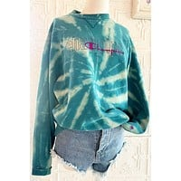 Late Night Gypsy Tie Dye Champion Sweatshirt