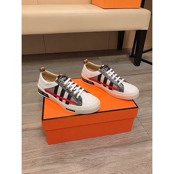 Burberry2021 Men Fashion Boots fashionable Casual leather Breathable Sneakers Running Shoes07210gh
