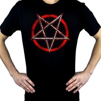 Inverted Pentagram Men's T-Shirt Occult Metal Clothing