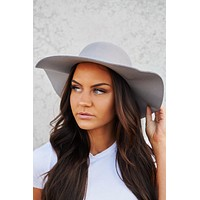 Winding Roads Boho Hat (Grey)