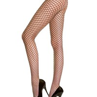 Patterned Fishnet Tights Pantyhose
