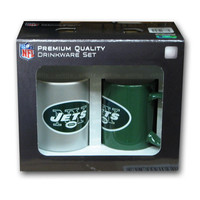 Hunter 2 Pack Coffee Mug - New York Jets