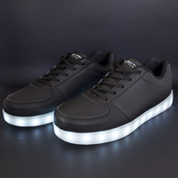 Light Up Shoes - All Black