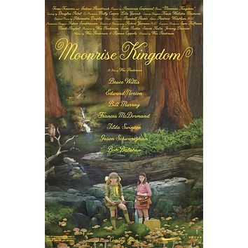 Moonrise Kingdom Wes Anderson Movie Poster 11x17
