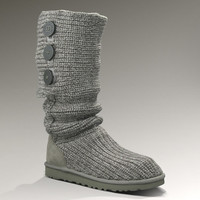 UGG® Classic Cardy for Women   Crochet Knit Boots at UGGAustralia.com