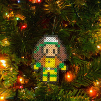 X-men Inspired Rogue Bead Sprite Ornament, Magnet, or Wall Decor