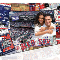 4X6 Picture Frame - Boston Red Sox