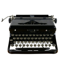 Vintage 1930s Type O Royal Typewriter, Excellent Condition, Serviced, Working, Beautiful