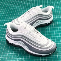 Nike Air Max 97 Ultra Se Grey White Women's Sport Running Shoes - Best Online Sale
