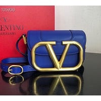 Valentino Women's fashion Leather Shoulder Bag Satchel Tote Bags Crossbody 06033